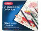 Derwent - komplet kredek Watercolour Collection 24