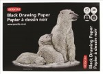 Blok Black Drawing Paper A3 200g Derwent