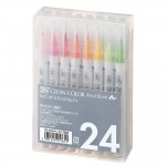 Clean Color Real Brush Marker 24 colors