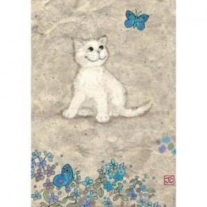 Puzzle 500 el. White Kitty, Heye 29626